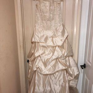 Ivory/Light Golden Wedding dress!